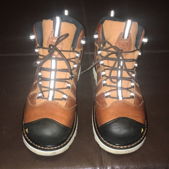 677627878fb Keen Steel Toe Safety Boots Size 9 1/2 D EUC $110